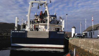 """SEPA's vessel """"Sir John Murray"""""""