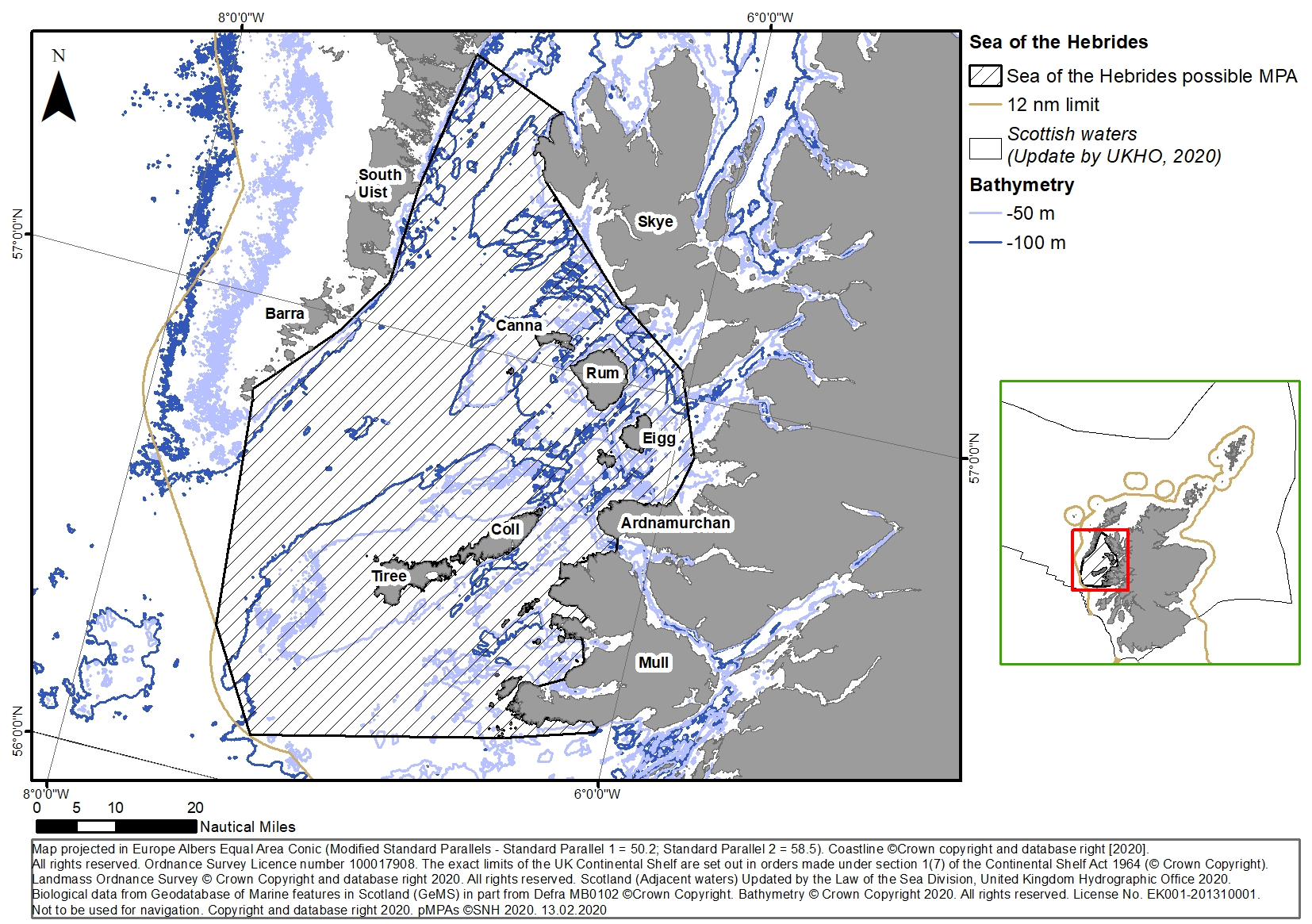 Figure 10: The Sea of the Hebrides pMPA/MPA