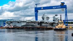Figure 1: HMS Queen Elizabeth under construction at Rosyth. ©Peter Devlin/DevlinPhoto