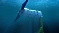 Figure 1: The Nova Innovation Nova M100 Tidal Turbine.