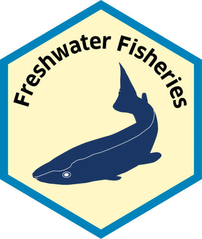 Blue economy sector hexagon freshwater fisheries