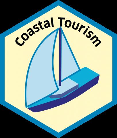 Blue economy sector hexagon coastal tourism