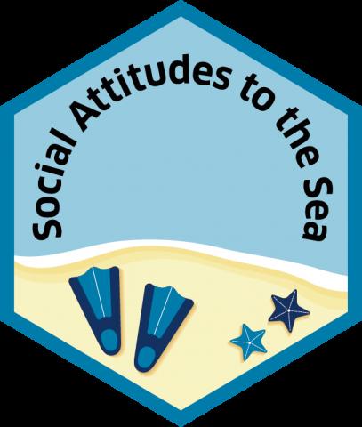 Blue economy sector hexagon social attitudes